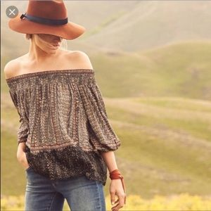 Anthropologie | Vanessa Virginia Off Shoulder Top